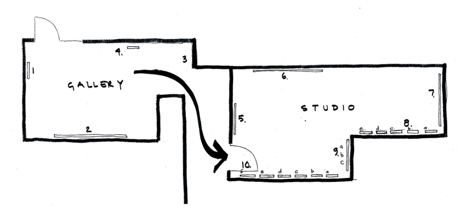 SONTAG MONTAG gallery plan_sketch